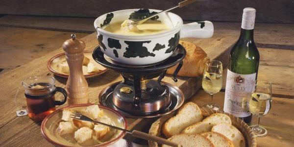 Nos fondues aux fromages
